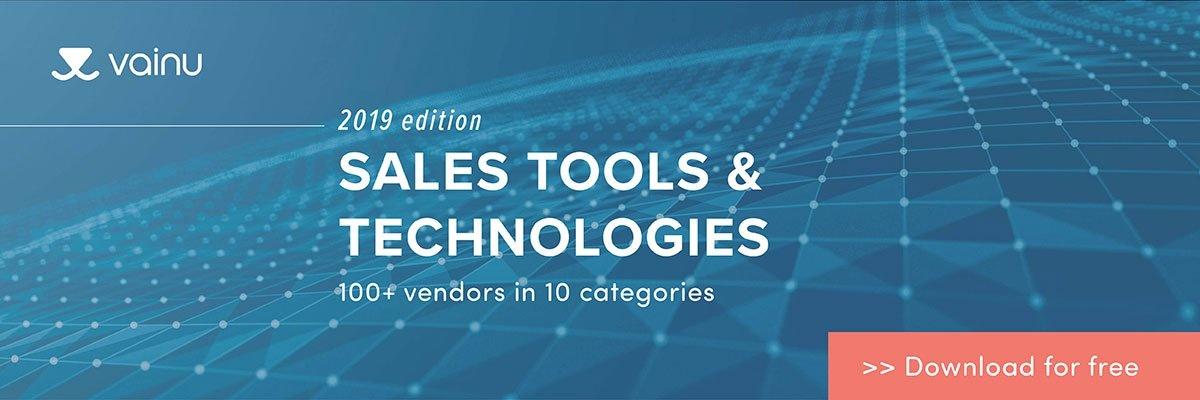 B2B-myynnin parhaat työkalut ja teknologiat vuonna 2019