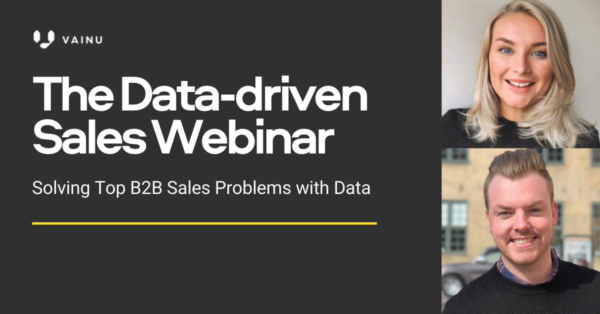 Solving Top B2B Sales Problems with Data